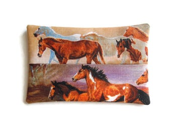 Fabric Horse Tissue Holder