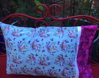 TINKERBELL Pillowcase - Standard Pillowcase - fairy disney pillow sham
