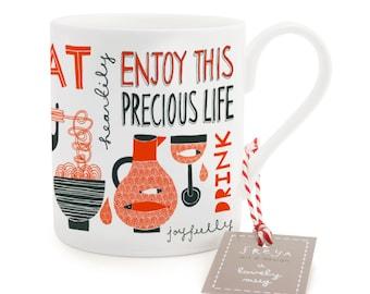 Enjoy This Precious Life - Mug (MUG8)