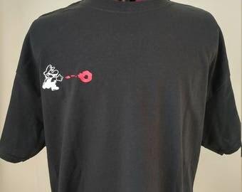 Fire Mario - Super mario Bros - Men's T-shirt - Front and back designs