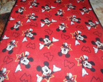 Mickey Mouse fleece baby blanket 35 x 30