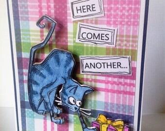 Creeping Birthday Card