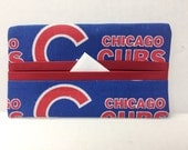 Chicago Cubs Tissue Cozy/Gift Card Holder/Party Favor/Wedding Favor