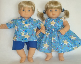 """15 Inch Doll Clothes/Happy Birthday/Made to fit 15"""" Bitty Baby Twins Dolls/READY TO SHIP"""