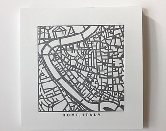 Rome or Florence pressed prints