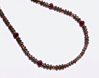 Glass Beaded Choker, Glass Beaded Necklace