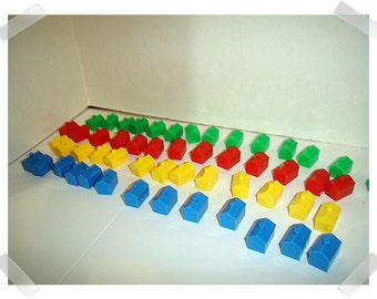 Hard Plastic Game Pieces for Monopoly Game/ Craft Supplies*