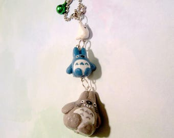 Totoro Charm on ball chain