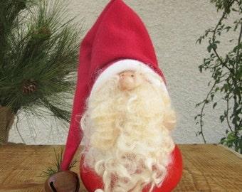 Christmas Gourd Santa Claus Winter Holiday Primitive Decoration
