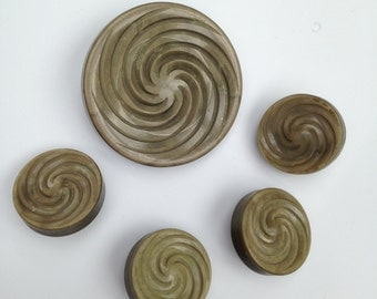 Vintage Celluloid Buttons 5 Tested