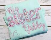 Big Sister Custom Shirt for Lolo