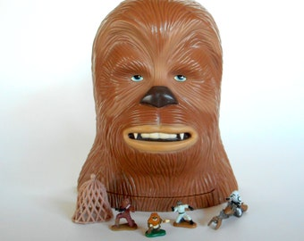 Micro Machines Star Wars Chewbacca / Endor Action Set  by Galoob 1995