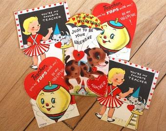 5 Midcentury Valentines for Teacher