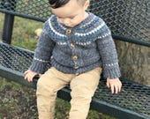Tiny Traveler Cardigan baby