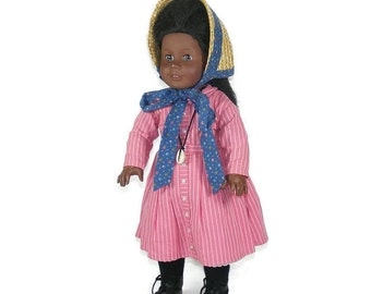Addy Walker American Girl Doll 1993 Pleasant Company Addy Doll with Outfits Accessories Books with Original Box