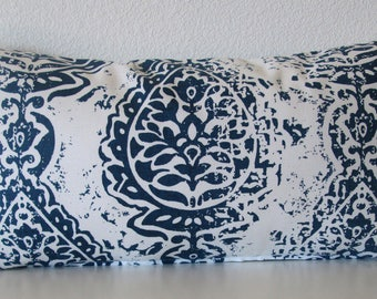 Pillow Cover - Navy blue Manchester