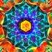 Instant Digital Download Emerald Mandala Art. Printable Mandala. DIY Home Decor. Digital Design. Printable Mandala. Meditation Print