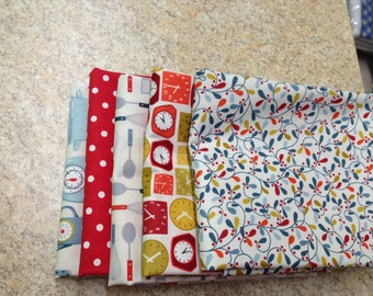 Lila's Kitchen half yard fabrics