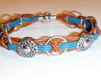 Leather Bracelet Kit- Windstar- Woodsong