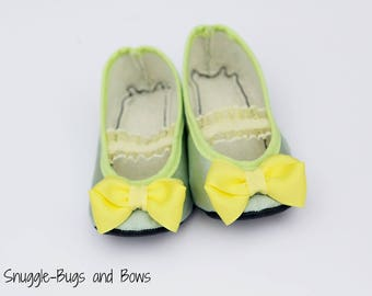 Princess Tiana Play Slippers (Sizes 1 - 12) MEASURE your child's foot PLEASE