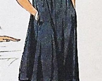 Retro Strapless Dress Sewing Pattern UNCUT Simplicity 7468 Size 14