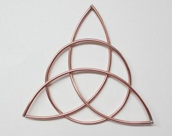 Celtic Trinity Knot | Celtic home decor | Copper wall art | Triquetra | Irish Gifts | Metal wall art | Irish home decor | St. Patricks Day