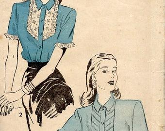 1940's Advance Sewing Pattern No. 4686