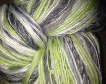 "229 Yards Handspun Luxury Extrafine Merino / Bamboo / Alpaca One Ply Yarn ""Emily"""