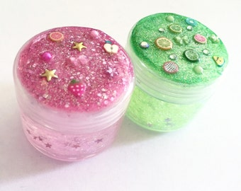 90s Throwback Face & Body Glitter Pots Fruity Collection