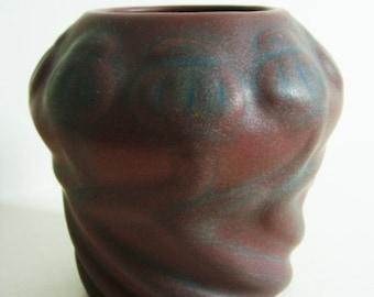 Van Briggle Mulberry Poppy Vase Design 21