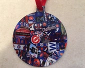 Chicago Cubs Ornament World Series Champs