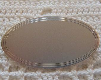 Vintage Brooch Sterling Silver Brushed Finish Anson Sterling Silver
