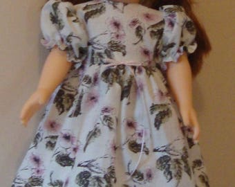Dress and pantaloons for American Girl size or 18 inch doll