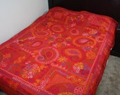 South Asian / East Indian Traditional Needlepoint Cotton quilt