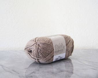 Sirdar Simply Recycled DK Cotton Acrylic Blend Yarn One Skein 50 Gram Brown Clay Eco Friendly