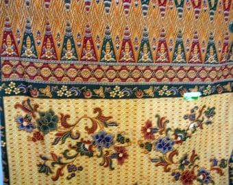 Batik Original Thailand Cotton Fabric, Aladdin, Hemmed Tube, NWT