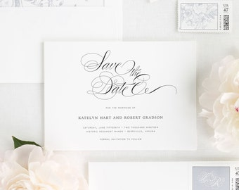 Southern Script Save the Date - Deposit
