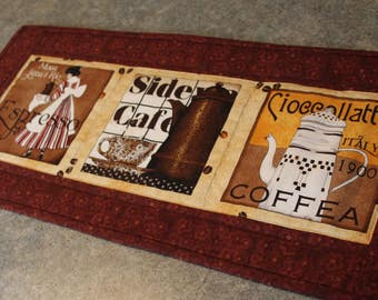 Sale Bown Coffee Expresso Cafe 11  X 25  Table Runner Topper