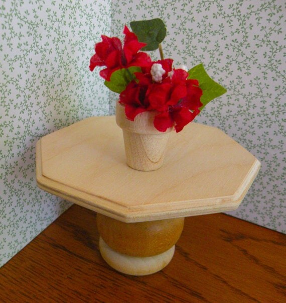 Dollhouse  Bowls of  Flowers