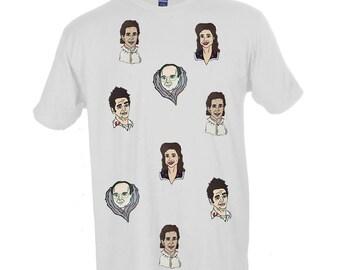 Seinfeld Tee by Jaime Knight