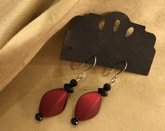 Red Velvet  Earrings