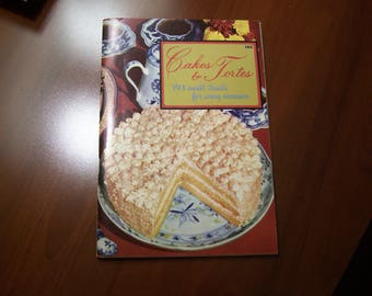 Cakes & Tortes Cook Book  Culinary Arts Institute 193 Sweet Treats for Every Occasion 1965