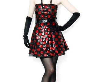 Glitter short dress