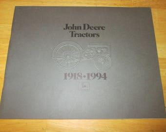 John Deere Tractors 1918-1994