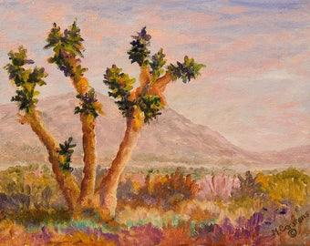 Joshua Tree Desert Painting