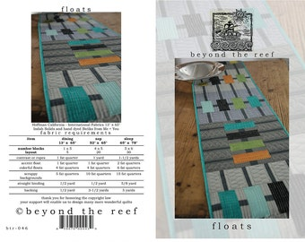 Floats from Beyond the Reef Patterns - Modern Quilt Pattern