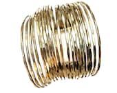 Gold Bangle Cuff Bracelet,Multi Bangle bracelet,Adjustable,Statement jewelry,Modern,Womens bracelet,Gift for friend,Holiday gift