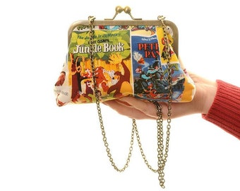 Classic Disney Posters Handbag and Clutch In One