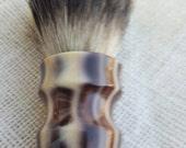 High Loft Leopard Print Acrylic  Silvertip Shaving Brush, Chunky Handled, 26 mm
