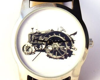 ON SALE 30% OFF Watch tractor, antique tractor watch, Big brother